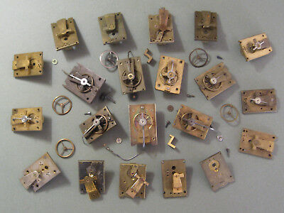 Antique French Carriage Clock Platforms & Parts For Spares Or Repair Only.
