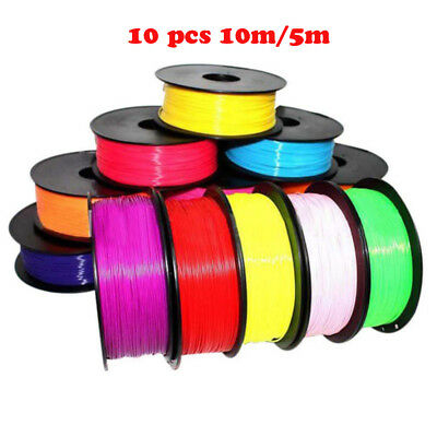 10PCS 1.75mm Print Filament ABS/PLA Modeling for 3D Drawing Printer Pen sale