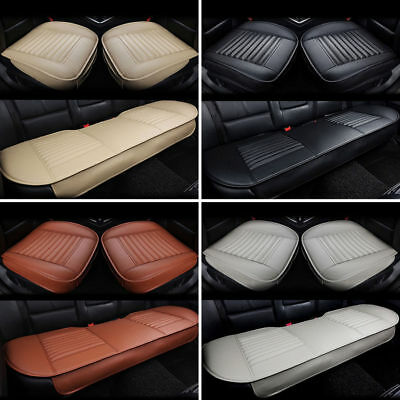 3D PU Leather Universal Car Seat Cover Pad Mat Breathable Auto Chair Cushion