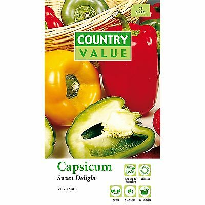 capsicum seeds.vegtables Seeds,plants Seeds,gardens seeds.easy Grow.Aus