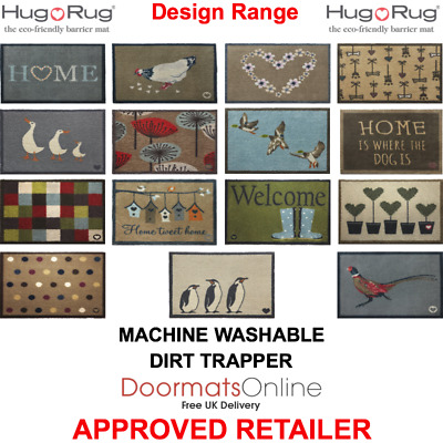 Hug Rug Design Range Door Mats & 85x65 cm Anti-Slip 73 VARIATIONS