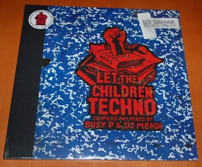 Busy P & DJ Mehdi - Let The Children Techno - 2017 RSD Sealed Double Vinyl LP