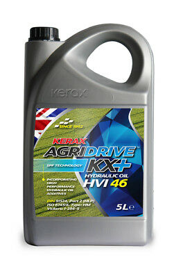 Kerax ISO 46 HVI Hydraulic Oil High Viscosity Index Fluid DIN 51524 5 Litre 5L