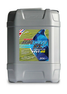 Kerax ISO 46 HVI Hydraulic Oil High Viscosity Index Fluid DIN 51524 20 Litre 20L