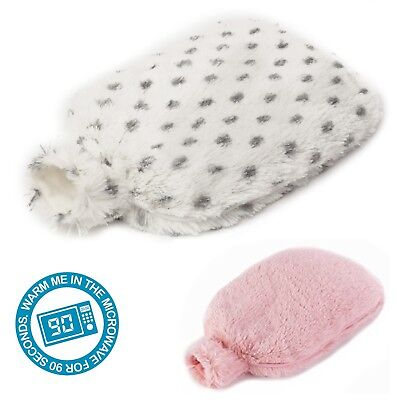 Intelex Warmies Microwaveable Lavender Scented Soft Hot Bottle - Pink or Snowy