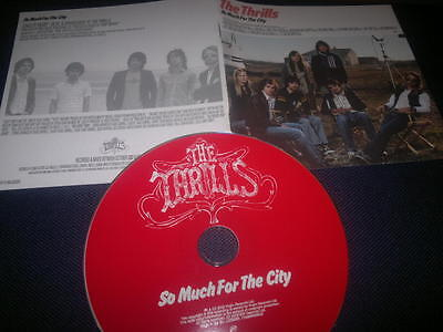 The Thrills – So Much For The City - CD Album _Original disk and book only,