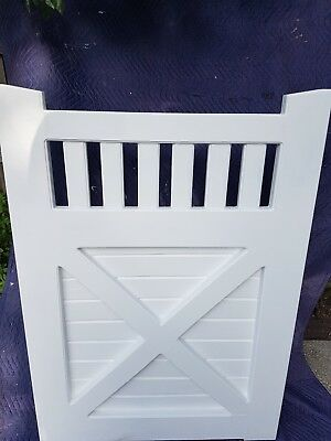 Timber Gates 1400 x 1000mm Victorian COLONIAL GATES WOODEN PRIMED FENCE GATE