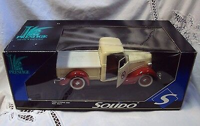 SOLIDO / PRESTIGE Die Cast ~ 1936 TEXACO FORD CITERNE / 8027 Truck ~ France
