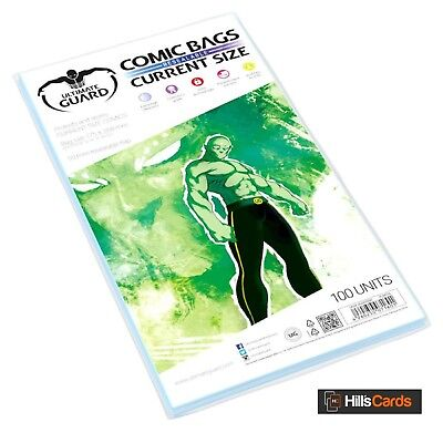 Ultimate Guard: 100 Resealable Current / Modern Age Size Comic Book Storage Bags