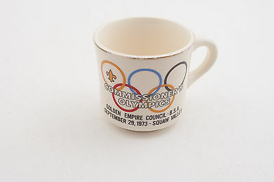Commisioner's Olympics 5 Rings Boy Scouts of America BSA Coffee Cup Mug (D5R-11)