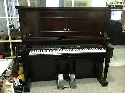 Pianola M.Schulz. Co.chicago Excellent Con. $ 1,500 Reservoir