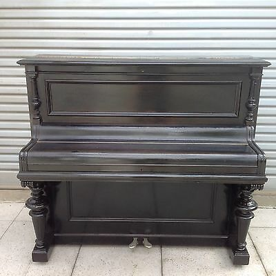 Bluthner Upright Black Piano Built 1888 Approx. $3950 Ono Reservoir