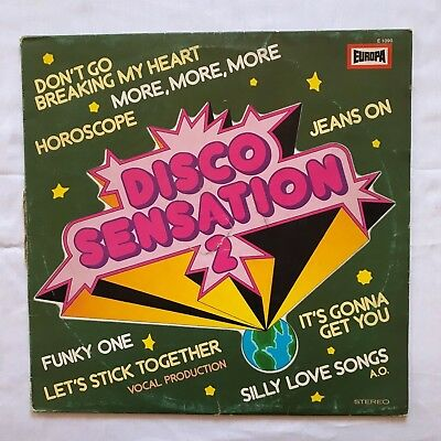 Disco Sensation 2, Retro, Musik, Music, Schallplatte, LP, 4/23