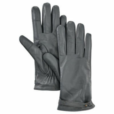 TIMBERLAND WOMEN'S STRAPPY LEATHER GLOVES - DK SHADOW. Size: Medium