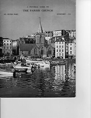 Ephemera Guernsey ,Booklet of a Pictorial guide to the Parish Church