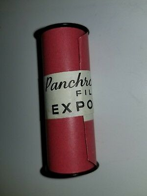 Vintage Panchromatic Roll Undeveloped Exposed Photography