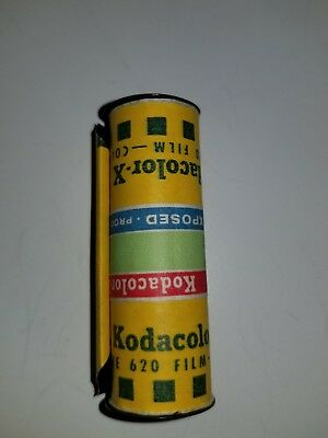 Vintage Kodak Kodacolor 620 Film Roll Undeveloped Exposed Photography