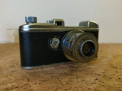 Rare Vintage Collectible Argus 35mm Camera f4 Anastigmat Lens w/ Case
