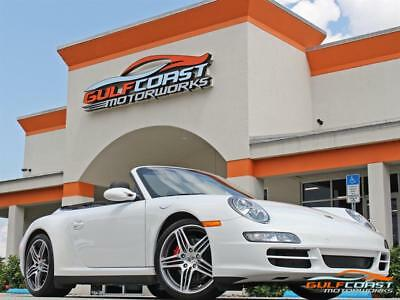 2008 Porsche 911 Carrera 4S 2008 Porsche 911 Carrera 4S Convertible 6 Spd Manual White 28k miles