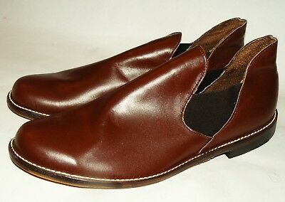 50s 60s vtg NOS Sheboygan Romeo Slippers rich man playboy smoking jacket 11.5