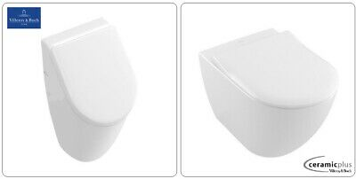 Villeroy & Boch Subway 2.0 Wand  Wc Mit Deckel Softclose Alles Original Urinal