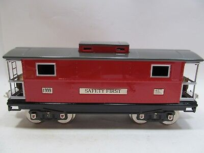 MTH Trains Tinplate Traditions Standard Gauge TCA 45th Anniversary Caboose New