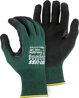 Majestic 35-3365 CUT-LESS Watchdog A2 Cut Resistant Gloves, Extreme Grip, S-2XL