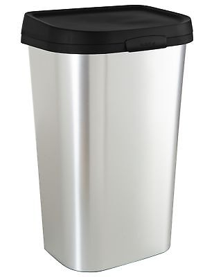 Curver Mistral 50 Litre Lift Top Bin - Silver. From Argos
