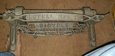 Antique BICYCLE BALL BEARING METAL WRINGER LOVELL MFG CO HEAVy 741 authentic