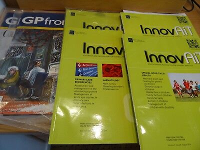 GP Frontline and Innovait Magazines for GP's.  6 in total. 2014 & 2017