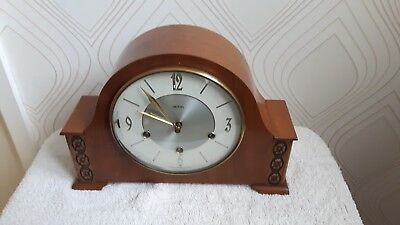 Smiths  Westminster Chime Mantle Clock - Floating balance- Requires TLC