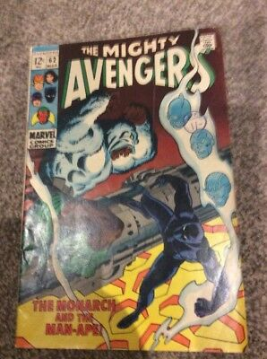 The Mighty Avengers #62 The Monarch And The Man-ape! 1969