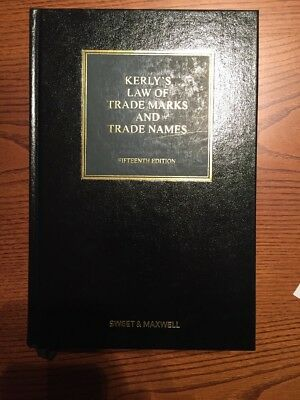 Kerly's Law Of Trademarks And Trade Names