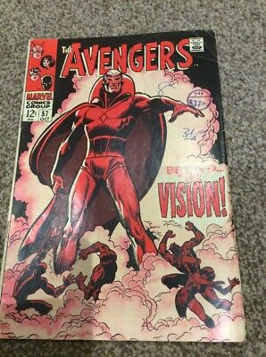 The Avengers Behold The Vision #57