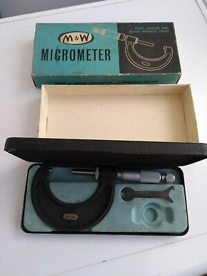 Moore and Wright 25-50mm external micrometer in good used condition