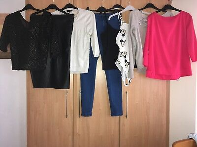 Ladies Clothes Bundle Size 12 Inc French Connection/River Island/Joules/New Look