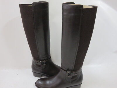 71c569f9169 AQUATALIA by Marvin K. ODINA Black Leather Weather Proof Worn 1X Boots Size  7.5