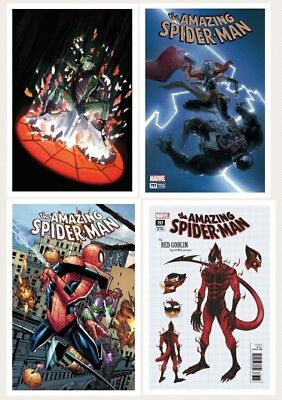 Amazing Spider-Man #797 Covers A B C D 1st Print + 1:10 Incentive + 2 Variants