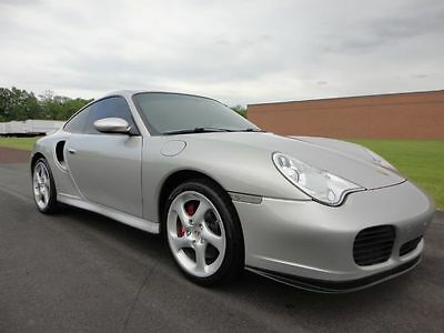 2001 Porsche 911 Turbo 2001 PORSCHE 911 COUPE 6 SPEED FULLY SERVICED NEW CLUTCH WE FINANCE MAKE OFFER !
