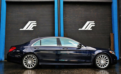 2015 Mercedes-Benz S-Class 4dr Sedan S 550 RWD 2015 Mercedes Benz S550 AMG Sport 16K Onw Owner Miles Financing Available Trades