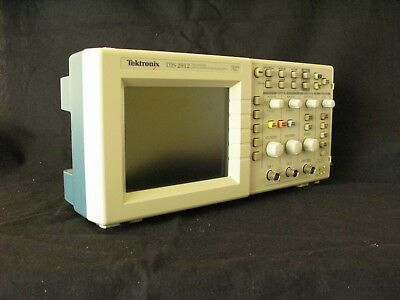 Tektronix TDS2012 Digital 2 Channel Oscilloscope with two probes- Works Great!