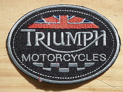 A033 ECUSSON PATCH THERMOCOLLANT aufnaher toppa TRIUMPH motorcycles trident