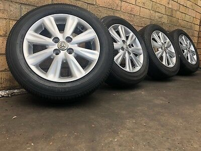 Toyota Yaris 15 Inch Wheels And Tyres Genuine Used Set
