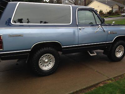1984 Dodge Ramcharger prospector ramcharger