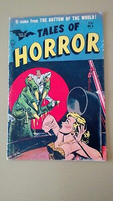 Tales of Horror #9 Golden Age Comic It came from The Bottom Of The World!