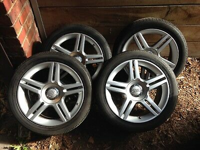 Genuine Audi A4 B7 Sedan Wheels