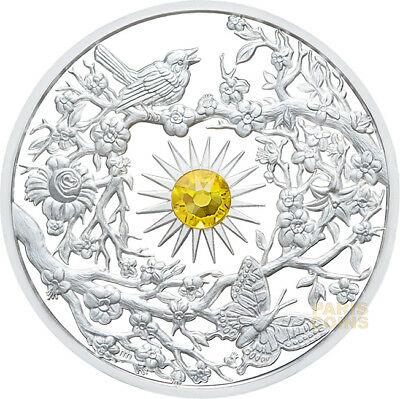 2017 $5 The Four Seasons - Spring 2oz Silver Proof Coin