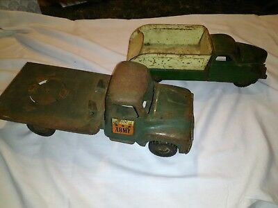 vintage buddyl toy trucks