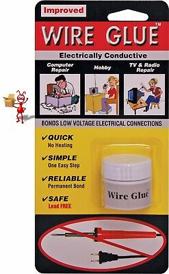 Wire Glue  - No solder needed !