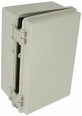 BUD NEMA Plastic Box Solid Door Electrical Enclosure Waterproof 11.3x7.5x5.5